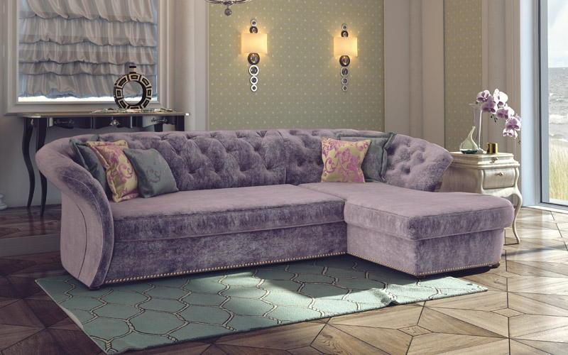 Угловой диван № 428