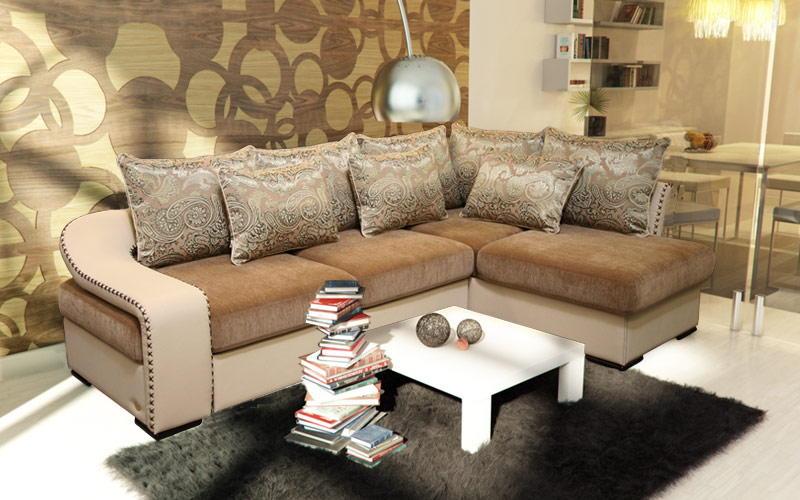 Угловой диван № 413