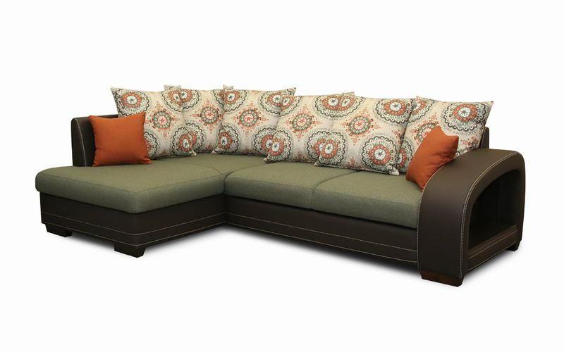 Угловой диван № 408