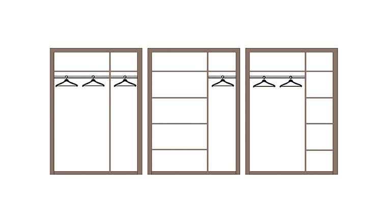 """Шкаф для одежды 3-х дверный """"252 О"""". Мебельный магазин Мебель Ленд. Санкт-Петербург"""