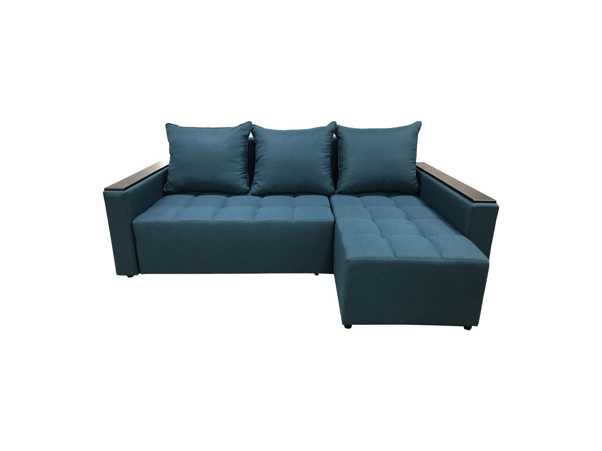 Угловой диван № 355 с накладками. Мебельный магазин Мебель Ленд. Санкт-Петербург