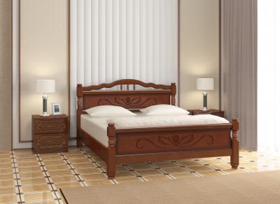 """Кровать """"114-5 B"""" Орех"""