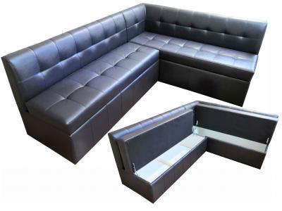 Угловой диван № 289 с ящиками