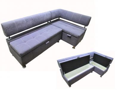 Угловой диван № 361 с ящиками